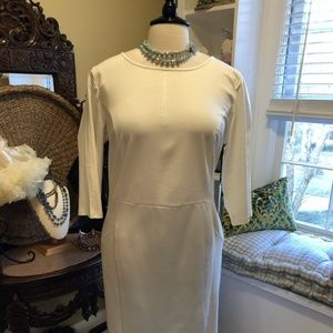 Unique Vintage NWT 22W Cream Dress